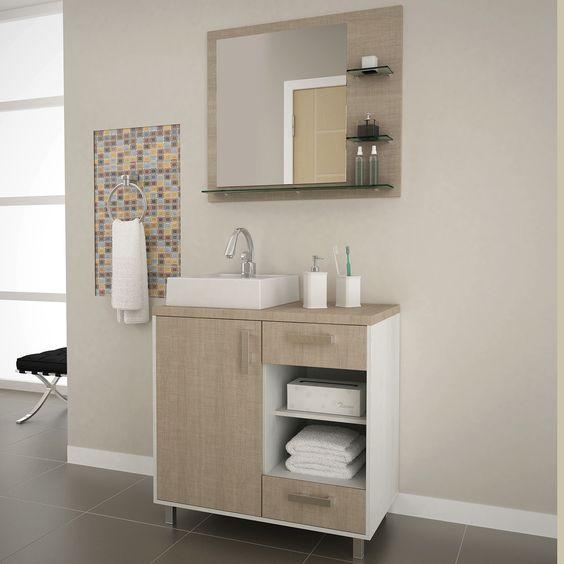 Que tal ter conforto e praticidade no seu banheiro? Além da #decoração ficar ainda mais linda! #Prod123180