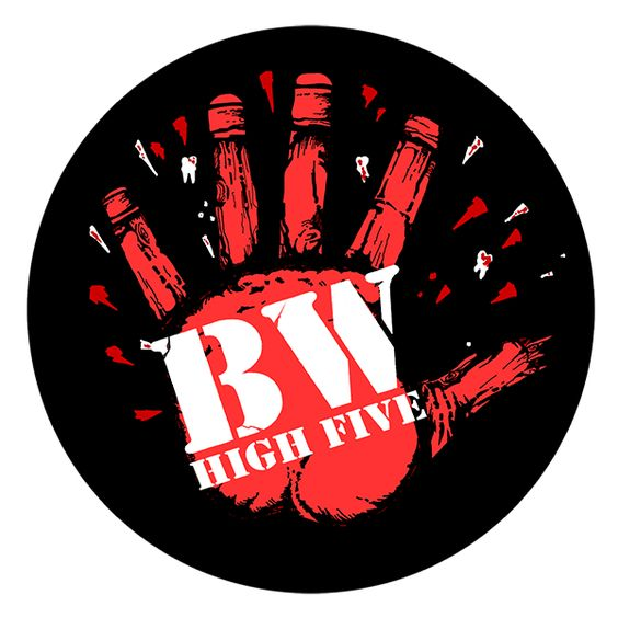 "Berliner Weisse - High Five -- Berliner Weisse ""High Five"" Button (2,5 cm) 605"