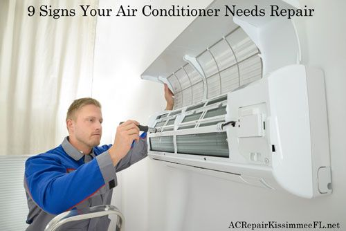 9 Signs Your Air Conditioner Needs Repair Air Conditioning
