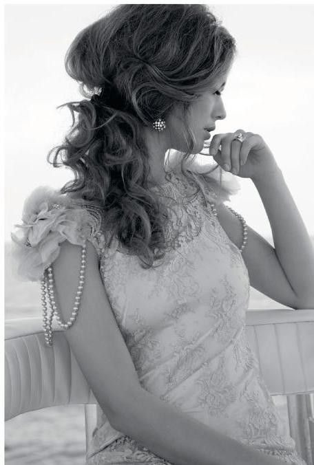 Pearls and Lace.