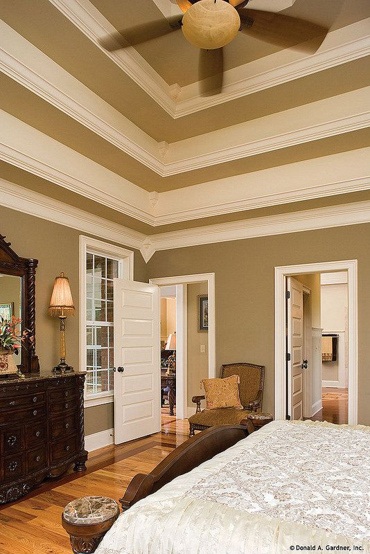 Plan 1117 The Clarkson Tray Ceilings Master Bedroom And Ceilings