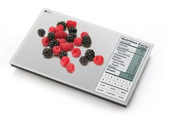 Digital Nutrition Food Scale in Holiday 2012 from Sharper Image on shop.CatalogSpree.com, my personal digital mall.