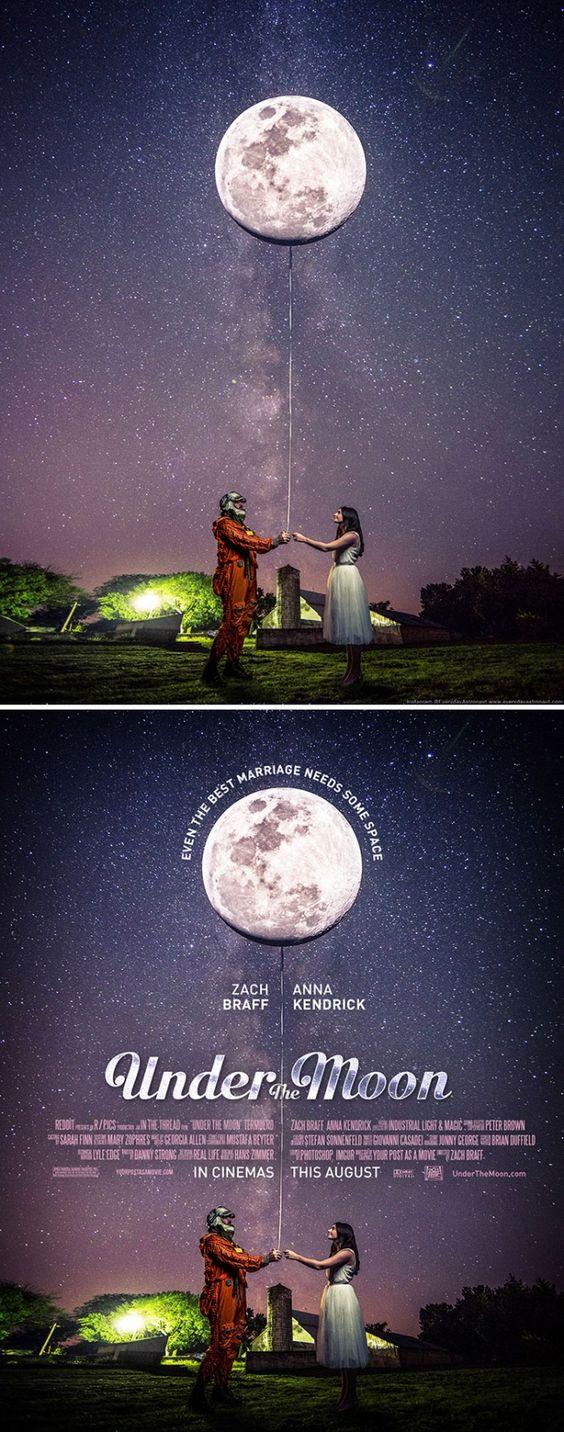 13 απίστευτες φωτογραφίες που ένα μάγος του Photoshop μετατρέπει σε αφίσες επικών ταινιών