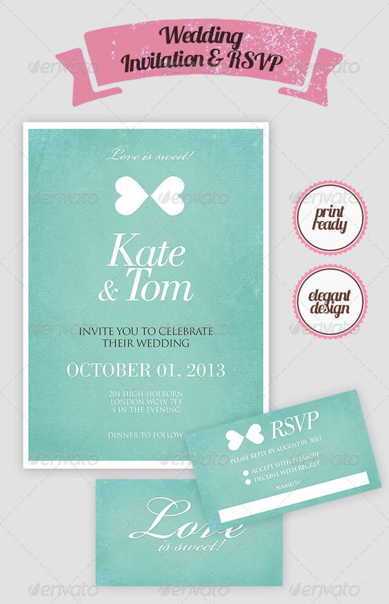 Doc.#600428: What Size Are Wedding Rsvp Cards – Wedding RSVP ...