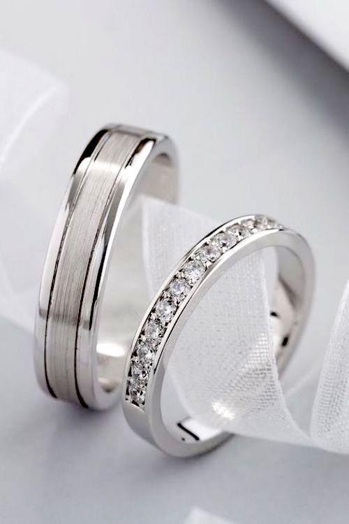 32 Originales Modelos De Anillos De Boda Para Tu Matrimonio Soñados Anillos Para Novios Anillos De Pareja Anillos De Casados