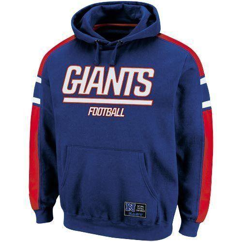 New York Giants Passing Game II Hoodie Sweatshirt - Royal Blue #NewYorkGiants