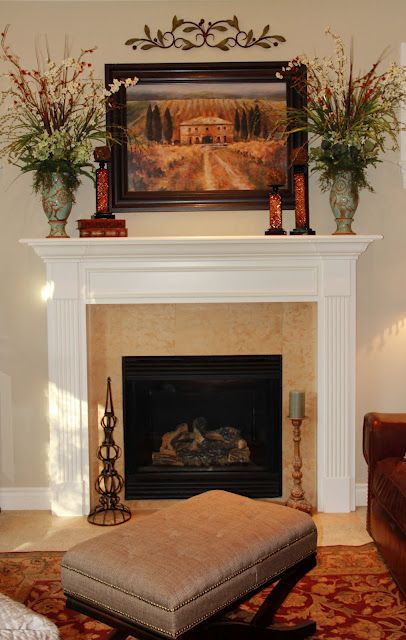 living room mantel decor the mantle decor the flowers are for the 12902
