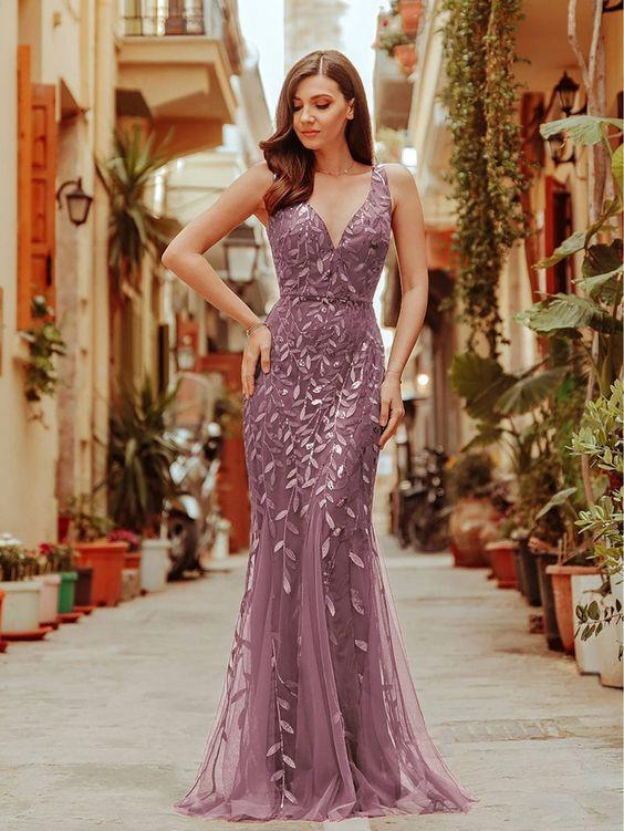 modelos de vestido de formatura brilhante