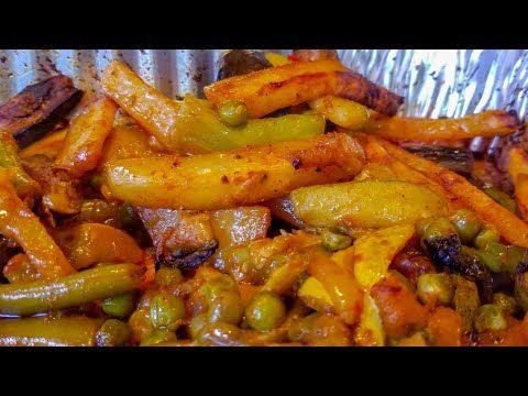 مشكل الخضار اليمني بالفرن بدون قلي Yemeni Veggies Mushakal In Oven Youtube Yemeni Food Food Arabic Food