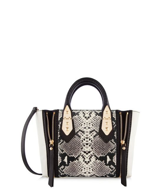 A-List Mini Snake Satchel | New Arrivals | Henri Bendel