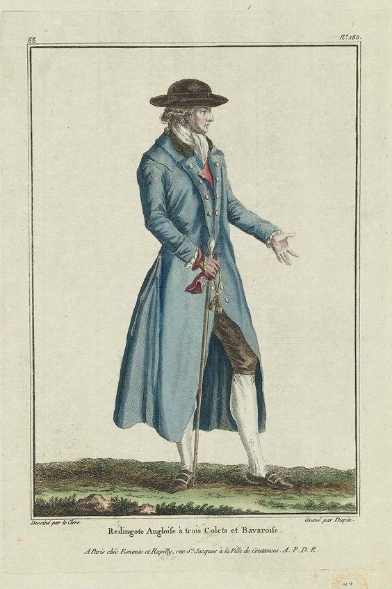 1780, Gallerie des Modes et Costumes Français, 31e. Cahier de Costumes Français, 24e Suite d'habillemens à la mode en 1780. gg.183. Museum of Fine Art, Boston, USA.