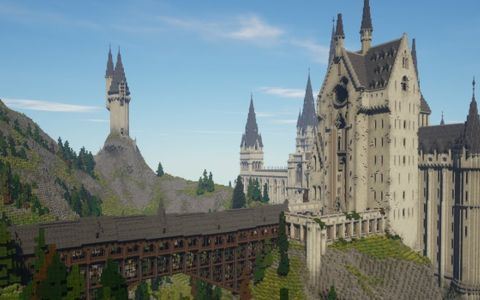 Witchcraft And Wizardry A Harry Potter Minecraft Mod 4 Years In The Making Finishes Develo Harry Potter Minecraft Hogwarts Minecraft Harry Potter Video Games