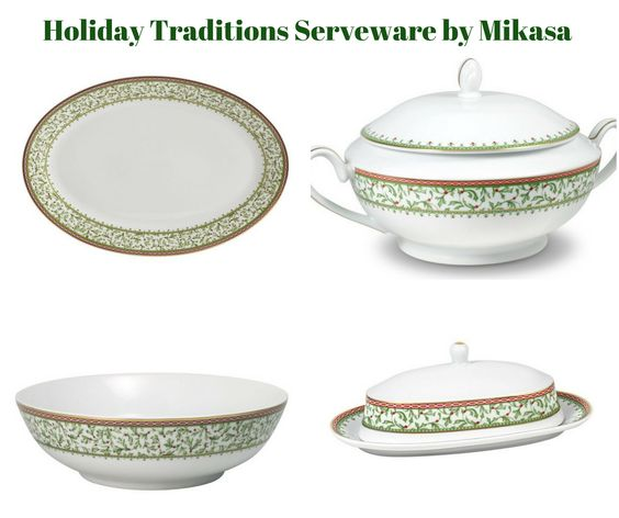 Holiday Traditions Serveware by Mikasa