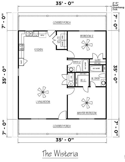 Wisteria Md Version 2 Mid America Metal Building House Plans Metal Buildings Metal Building Homes