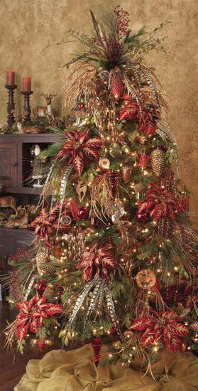 Christmas tree decorating ideas.