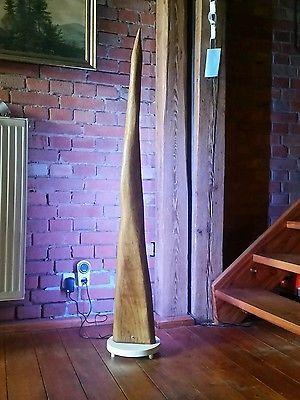 stehlampe leuchte design moderne wohnzimmer led lampe wildeiche ... - Moderne Wohnzimmer Stehlampe