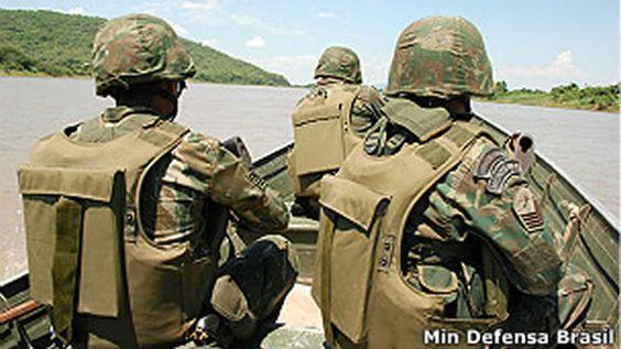 Brasil usará 25 mil militares em ação inédita em fronteiras