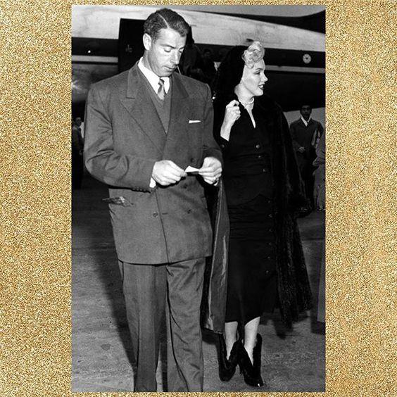 Marilyn and Joe DiMaggio traveling on their honeymoon, 1954. 😊😍😘❤️💜💖💕💋 #MarilynMonroe #Marilyn #Monroe #MM #NormaJeaneBaker #JoeDimaggio #Honeymoon #Happy #Radiant #Magnificent #Magic #OldHollywood #Marilynette #Fifties