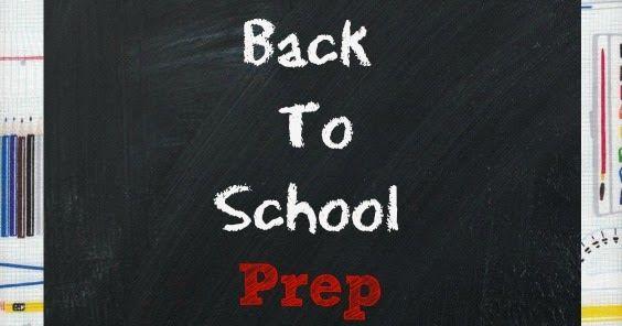 Back to school prep for an organized year. busy mom sports mom organizing