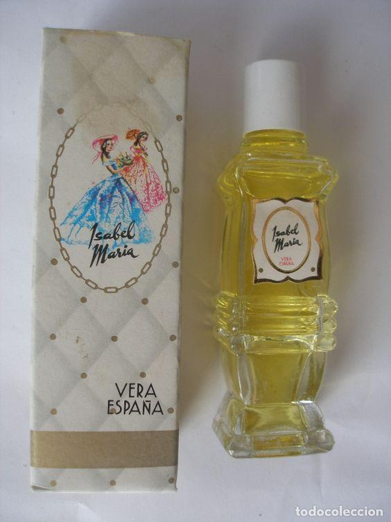 AGUA DE COLONIA DE FRAGANCIA SEÑORIAL ISABEL MARÍA AÑOS 70 VERA BARCELONA EN CAJA SIN ABRIR (Coleccionismo - Miniaturas de Perfumes)