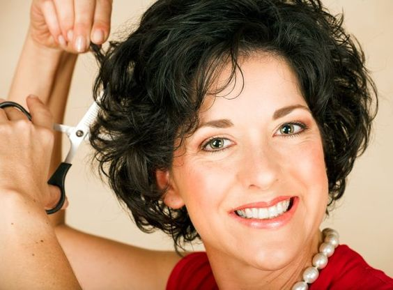 Fantastic Short Curly Hairstyles Hairstyle For Women And Over 50 On Pinterest Hairstyle Inspiration Daily Dogsangcom