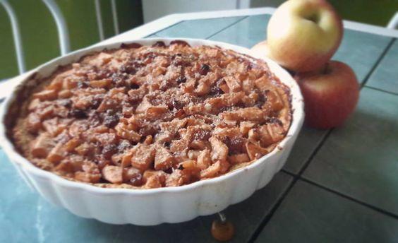 Almás mazsolás paleo pite  #paleo #paleopie #pie #foodporn #mutimitsütsz #hazicukrasz #love #pite #pieporn #apple #applepie #mik #ikozosseg #instahun #Hungary #HUN