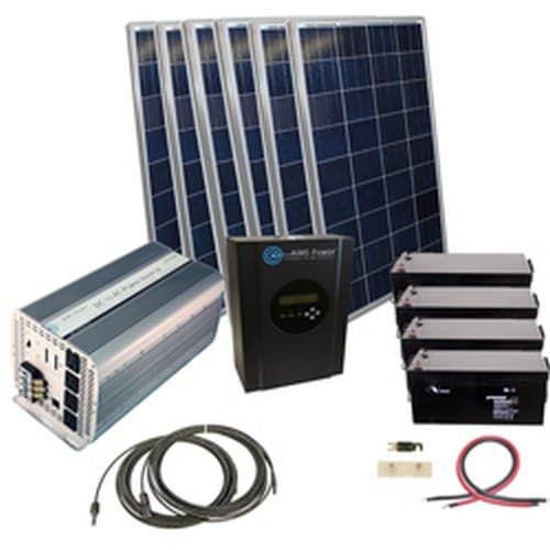Aims Power Kitb 5k24120 C2 Invertersupply Com Solar Heating Solar Kit Solar Technology