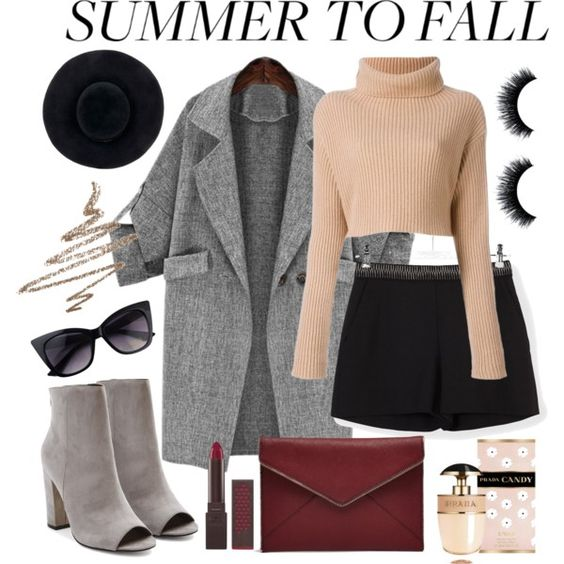 Summer to Fall Layering by leyla13-togz on Polyvore featuring Balenciaga…