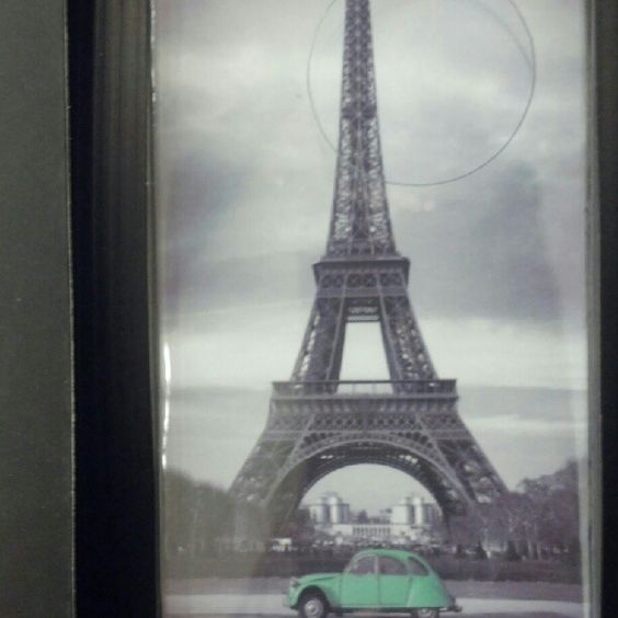Eiffel Tower iphone case I saw at the apple store today!