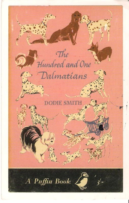 The Hundred and One Dalmations  Such beautiful illustrations and such a wonderful, imaginative story. I loved the bit when they stayed with Sir Charles and his elderly spaniel. He thought he was seeing ghost dogs from his youth.