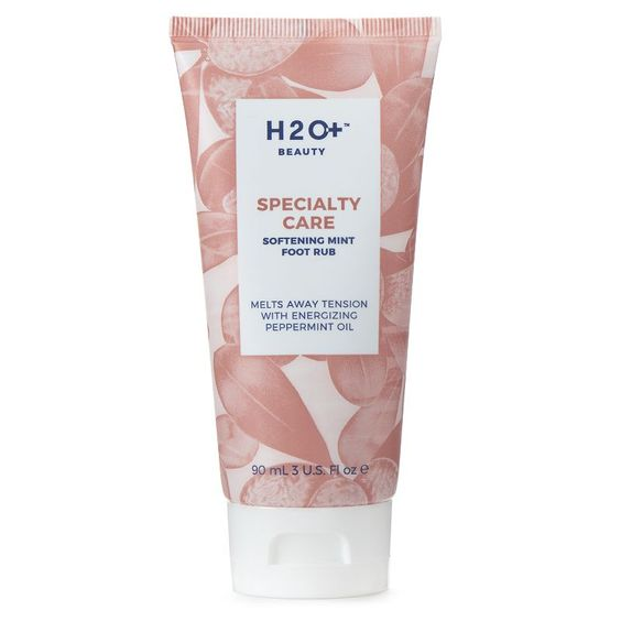 H20+ Beauty Specialty Care Softening Mint Foot Rub, Multicolor