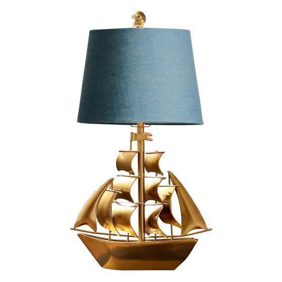 The Emily Meritt Pirate Ship Table Lamp Lamp Emily And Meritt Table Lamp