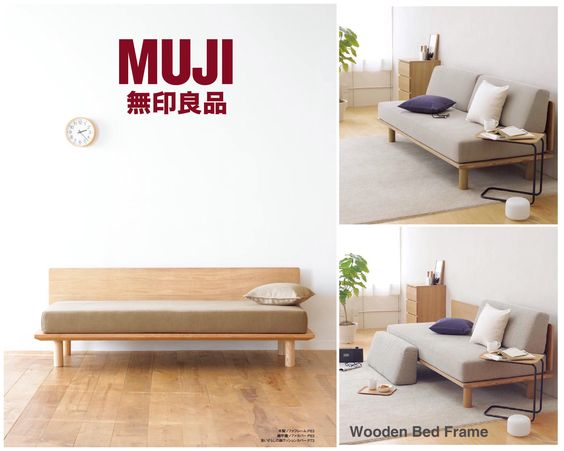 muji sofa bed new home furniture pinterest zen bed daybed