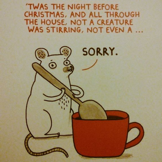 Funny Christmas Card :)  #christmas #christmascard #christmascards #holiday #holidays #mouse