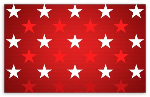Download Stars Background Red And White Hd Wallpaper