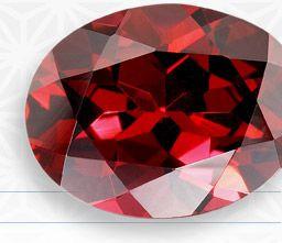 Trigem Designs: Red Garnet JANUARY