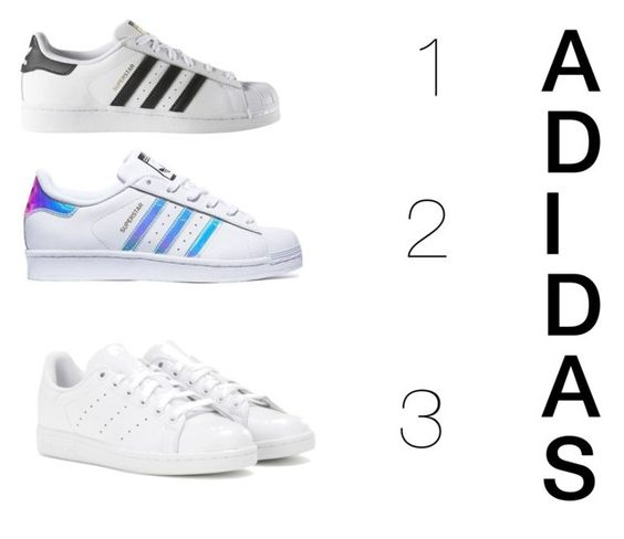 """Which shoe?"" by creativegurlsrbaexoxo ❤ liked on Polyvore featuring adidas"