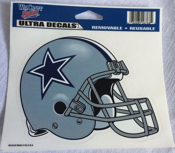 Dallas Cowboys Football WinCraft Sports Ultra Decals Removable Reusable…