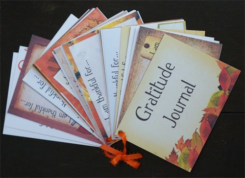 Count Your Blessings ~ FREE Printable Gratitude Journal