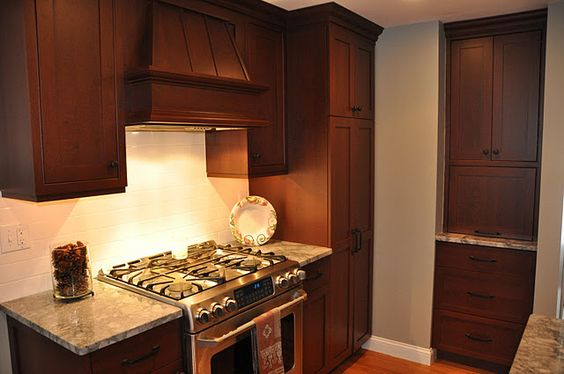 Range Hood, Built In Pantry Cabinet