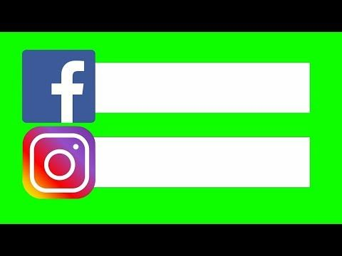 Redes Sociais Chroma Key Facebook Instagram Barras Green Screen Pantalla Verde Youtube In 2021 Facebook And Instagram Logo Logo Facebook Instagram Animation