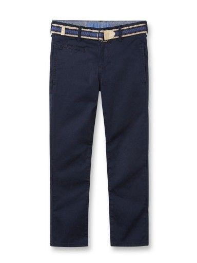 Pantalone chino con cintura