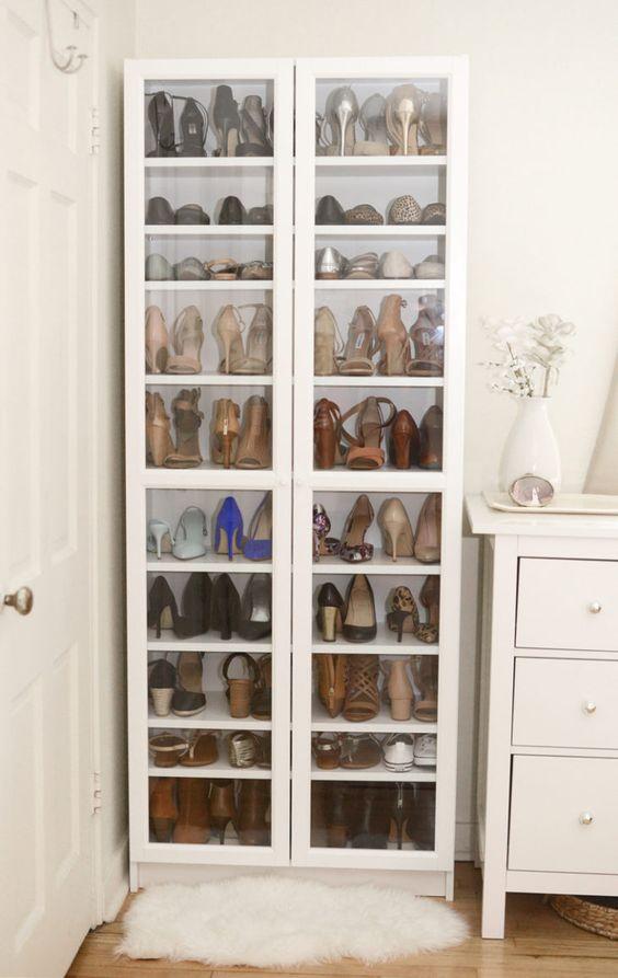 Como organizar sapatos: 50 ideias simples que funcionam (tutoriais)