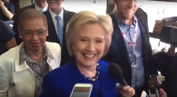 Demonic force takes control of Hillary Clinton