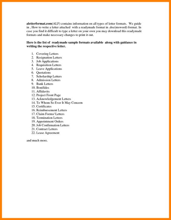 Appointment Letter Format Construction Company Telecom Sample