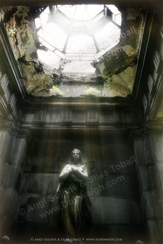 Guardian - Cemeteries and Their Sentinels by Duirwaigh Studios , via Behance
