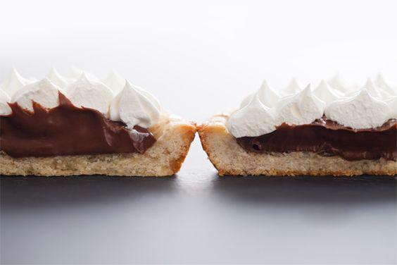 salted nutella tarts