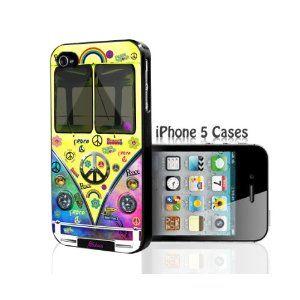 Hippie Retro Peace Love Mini Van - Tie Dye iPhone 5 Case