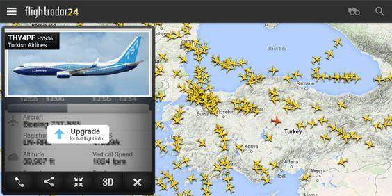 Flightradar24 es una aplicación para observar aviones http://bit.ly/1Nm9Ash |  #Apps, #Avion, #Aviones, #EspacioAéreo, #Flightradar24