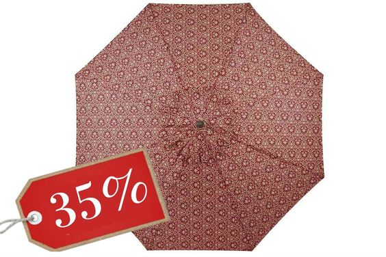 Jayden 8.25 Ft. Patio Umbrella Red